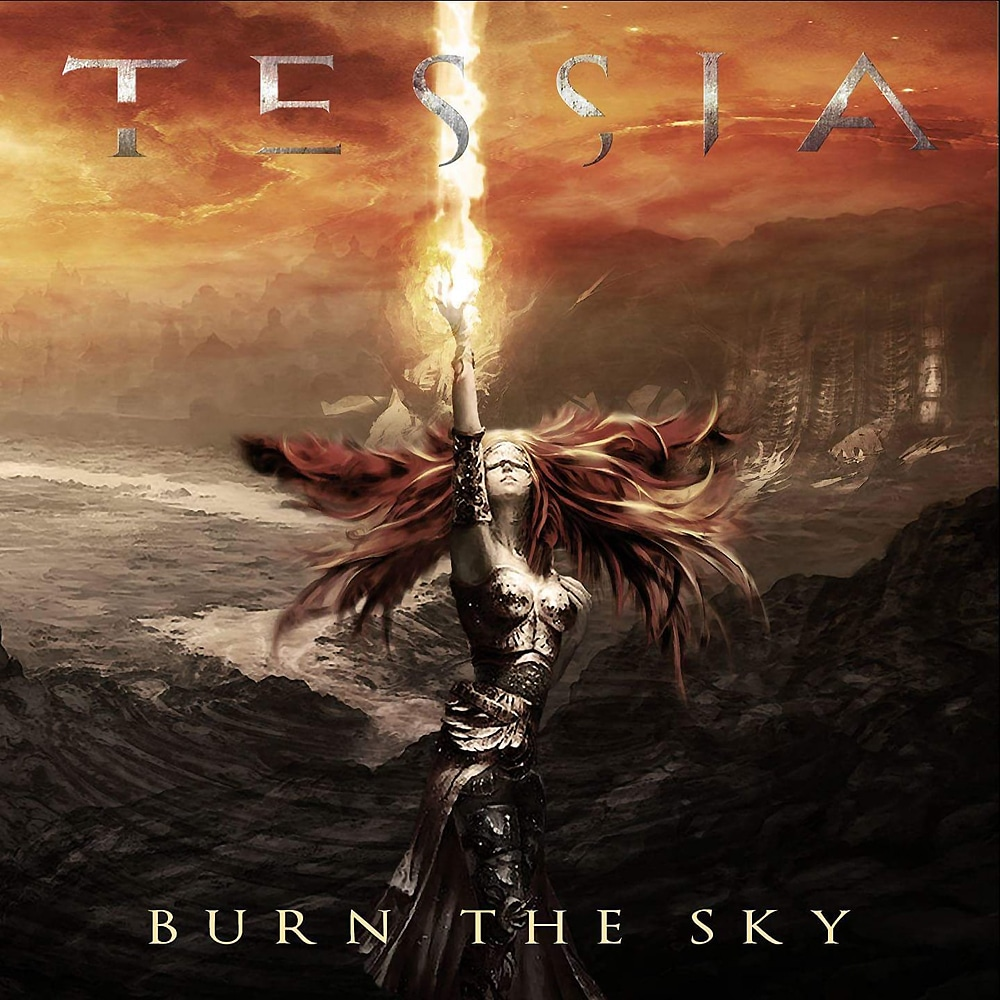 TESSIA - Burn The Sky 2018) Job done :Reamped Mixed Mastered