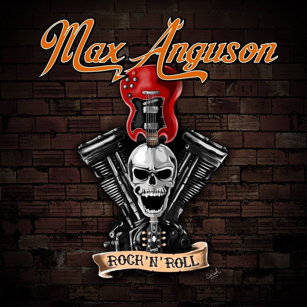 MAX ANGUSON - Rock'n'Roll (2017) Job done : Mastered for CD and Vinyl